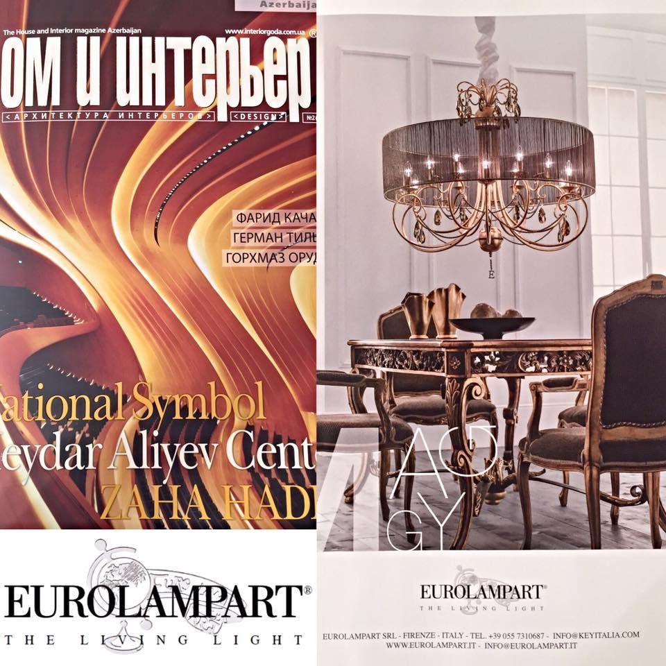 Advertising DOM E INTERIOR april 2016 Euro Lamp Art Srl www.eurolampart.it #eurolampart  #interiordesign #lighting #luxurylighting #luxurylife #prestigelighting #chandelier #luxurychandelier #prestigechandelier #homecollection #furniture #luxuryfurniture #babyroom #luxurybabyroom #babylight #babychandelier #luxurybabylight #luxurybabychandelier #wallbracket #luxurywallbracket #prestigewallbracket #tablelamp #madeinitaly #xLux #salonedelmobile #salonedelmobile2016 #eurolampartxlux2016
