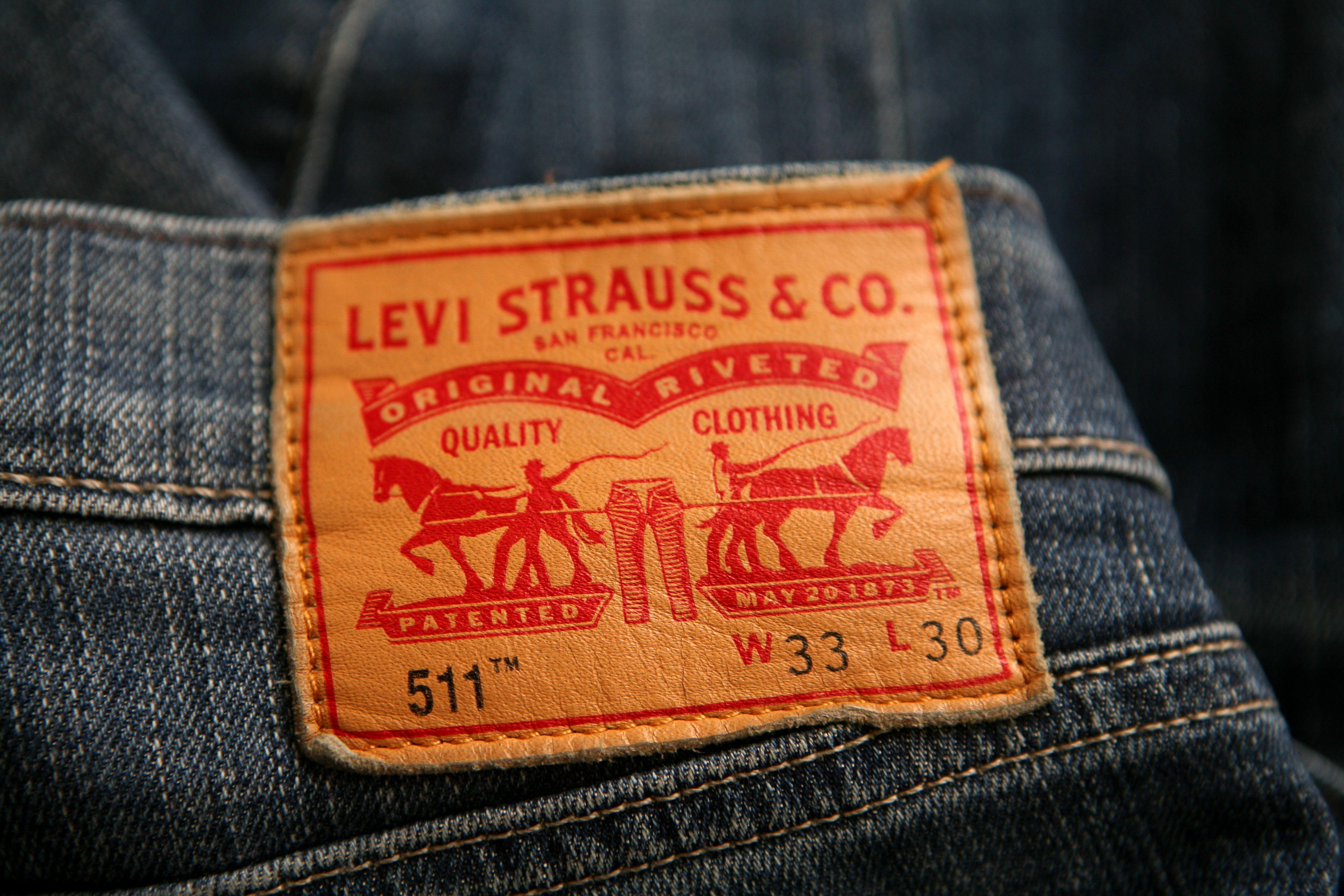 Levi Strauss Brand And Logo Designed By Turner Duckworth Levi S Brand Levi Brand