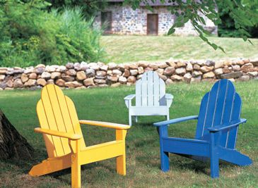 Easy Color Makeovers For Outdoor Furniture   From Benjamin Moore Some Great  Ideas To Repaint Your Old Outdoor Wooden Furniture. Part 19