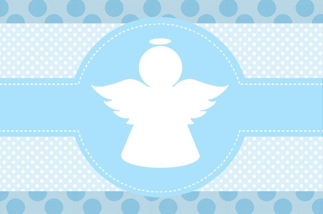 Fondos para invitacion de bautizo de nino