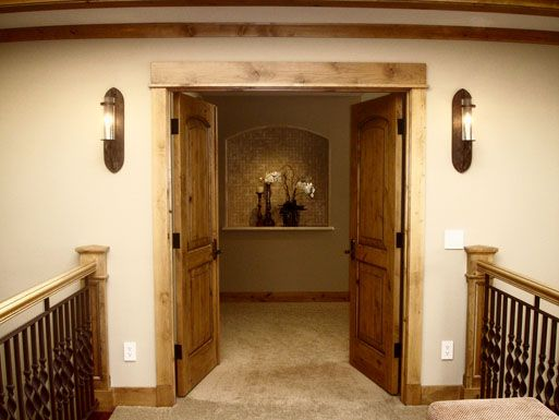 Master Bedroom Entryway a custom king bed made from historic materials anchors this rustic