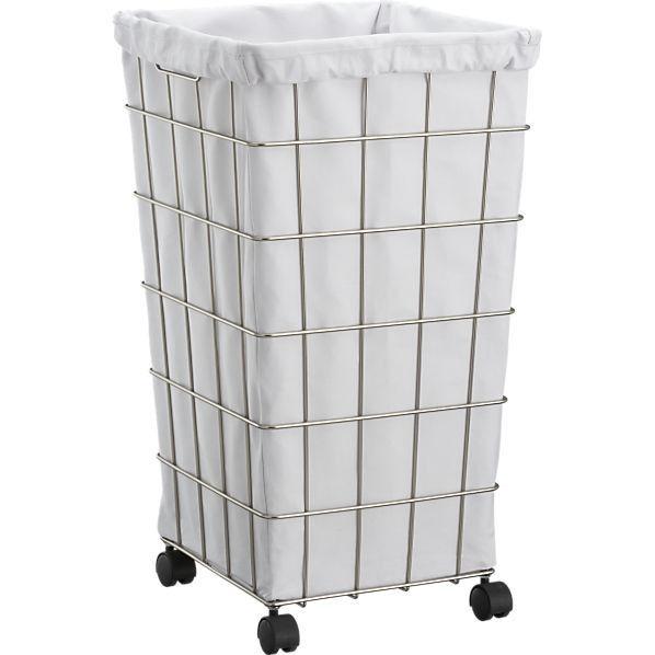 Wire Basket Hamper Liner With Images Laundry Hamper Laundry