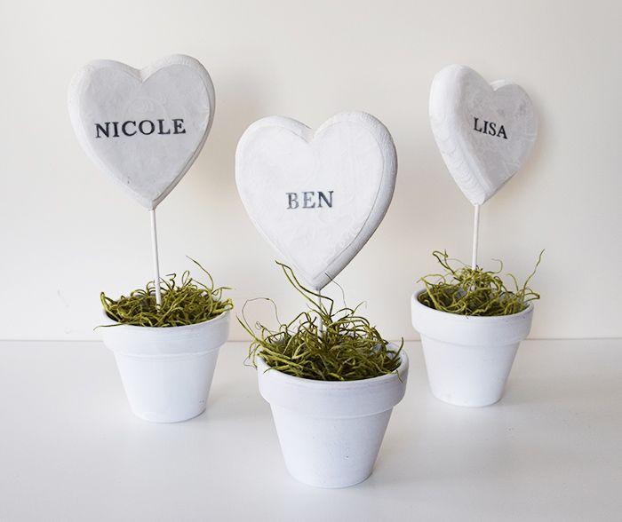DIY-Tischkarten-Hochzeit | Wedding Table | Pinterest ...