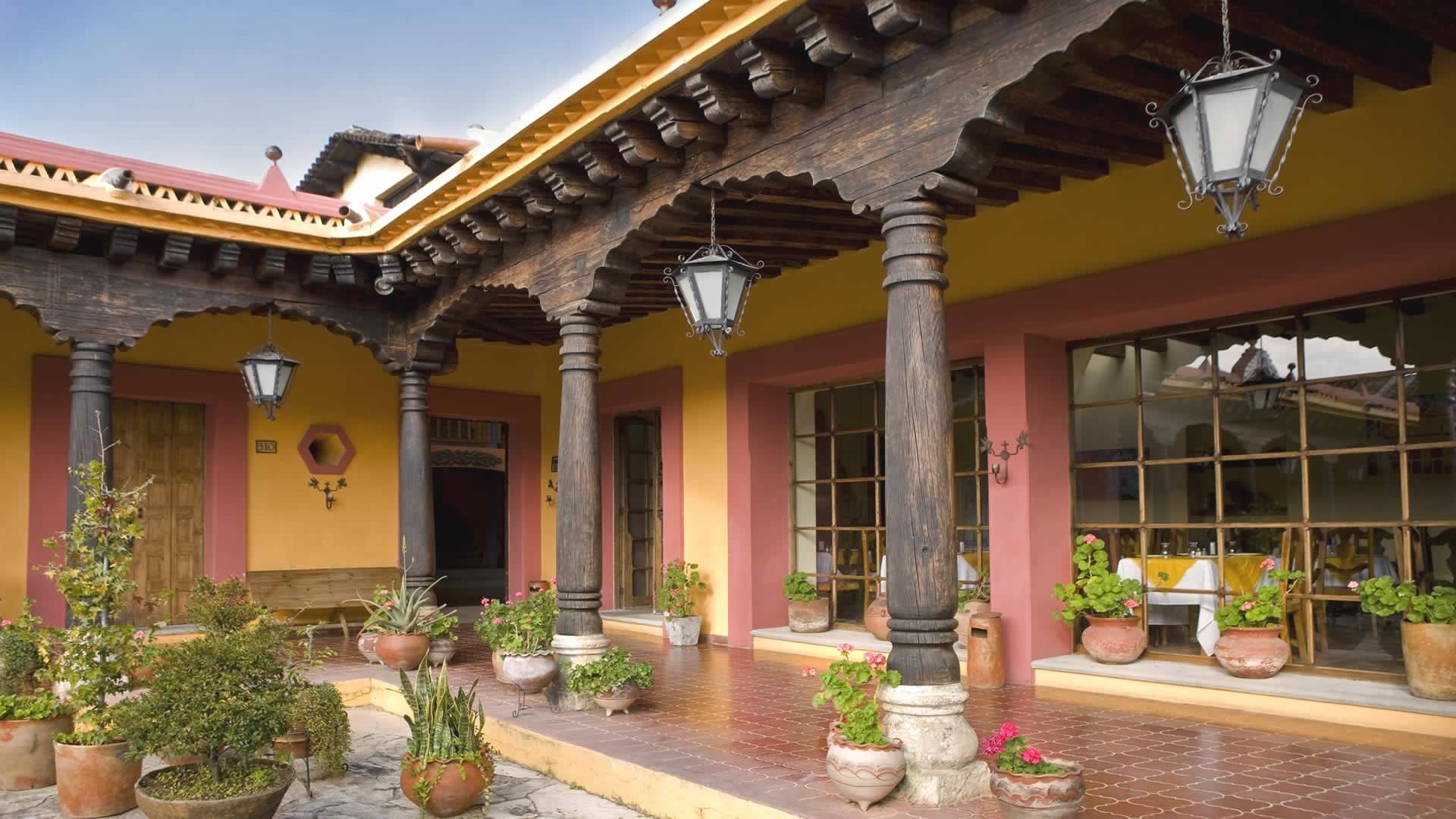 Hotel Catedral San Cristobal de las casas Chiapas Mx