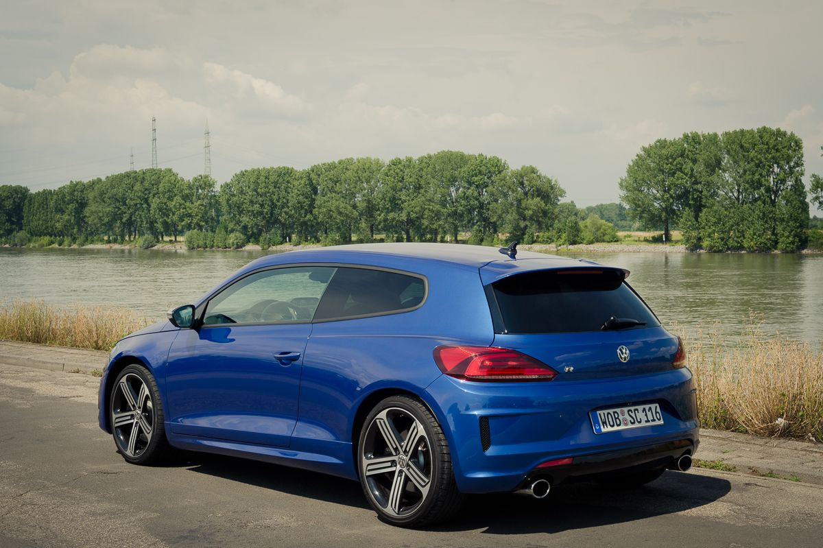 2014 volkswagen vw scirocco r facelift in rising blue metallic my style pinterest vw. Black Bedroom Furniture Sets. Home Design Ideas