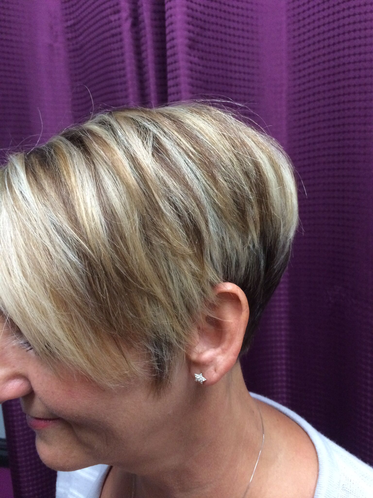 Hilow lights and cite stacked pixie my style pinterest low