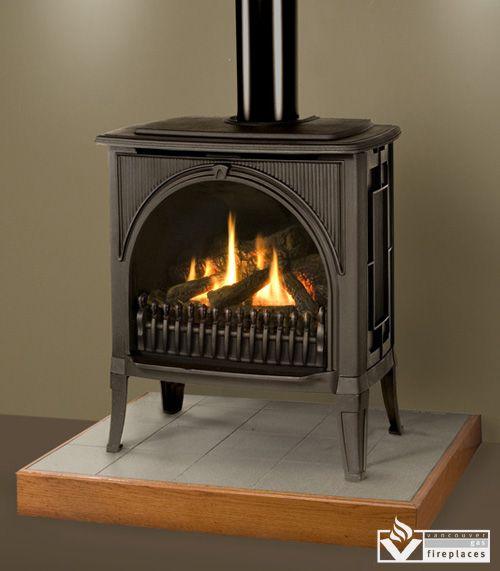 Valor Madrona M1 Fireplace Insert From Vancouver Gas Fireplaces Gas Fireplace Valor Fireplaces Freestanding Fireplace