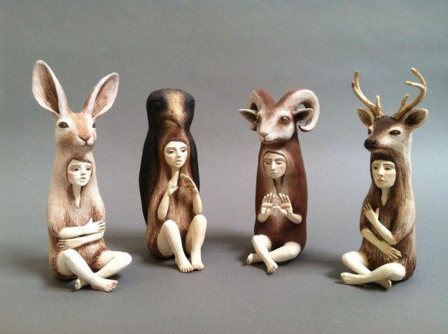 Crystal Morey Ceramic Sculptures Art Sculpture Ceramic Sculpture