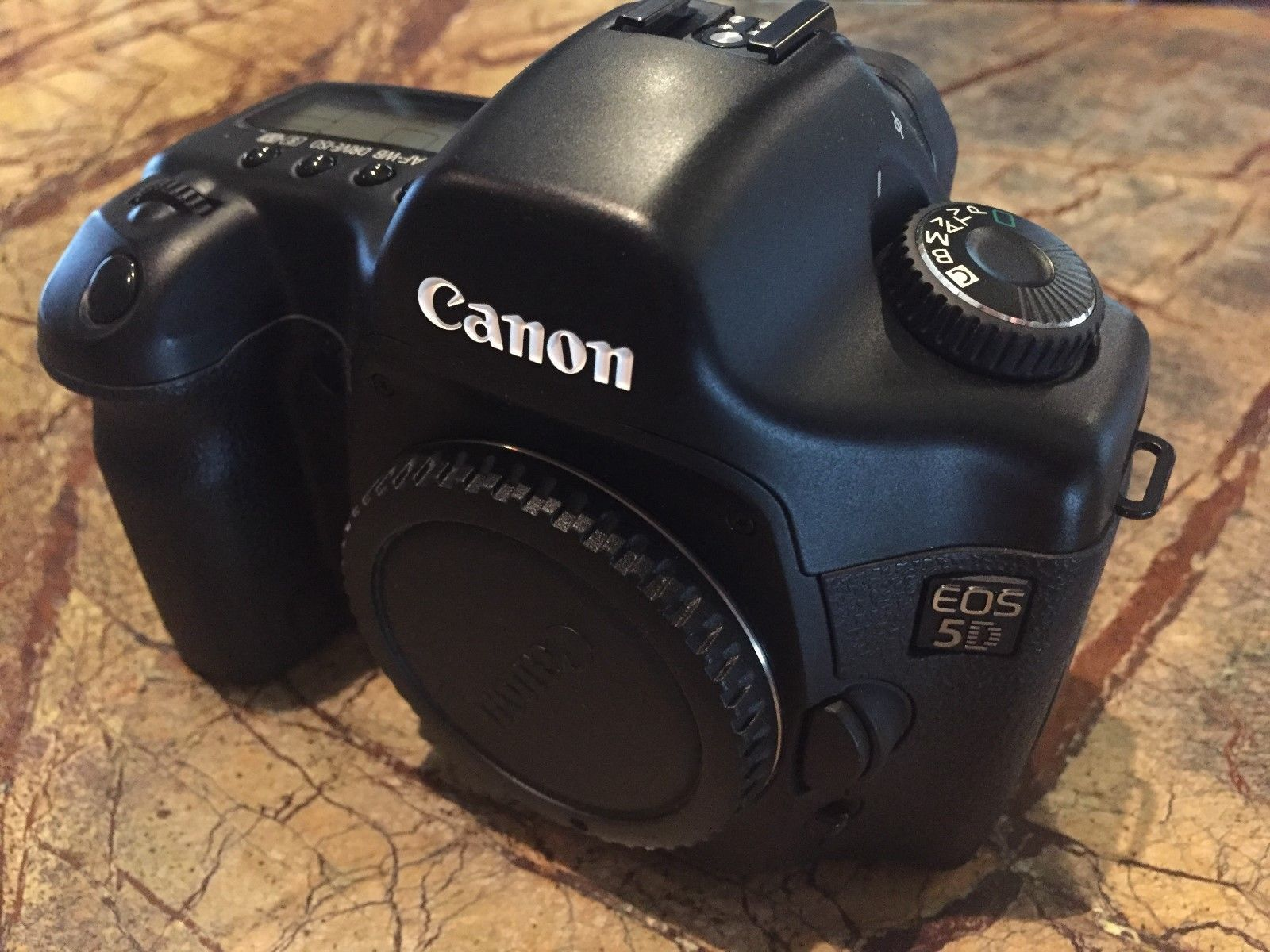 Canon EOS 5D 12.8MP Digital SLR Camera - Black (Body Only) | Digital ...