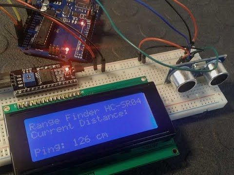 Use the I2C Bus to control a Character LCD with Arduino - Tutorial - YouTube