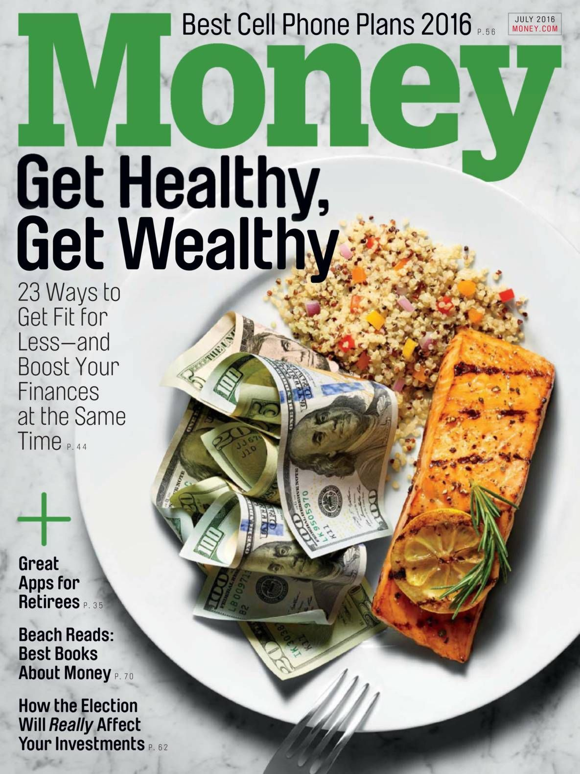 Free Download Money Magazine July 2016. Best Cell Phone