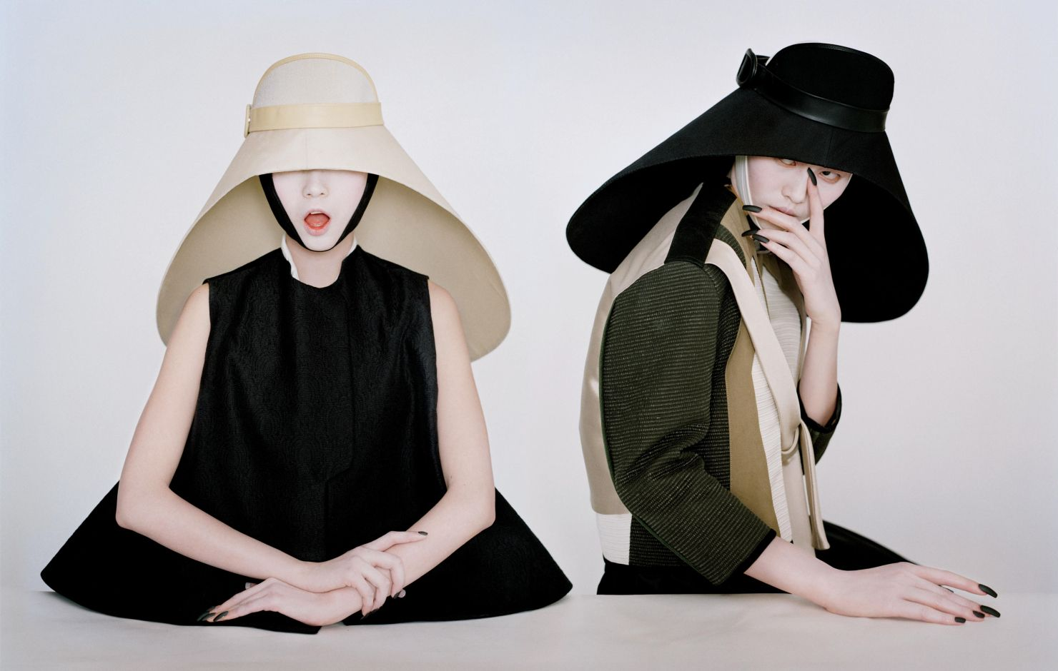 Asia Chow, Liu Wen, Xiao Wen Ju by Tim Walker for W Magazine March 2012 9