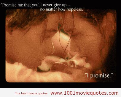 Beau Titanic Quotes Love This Movie