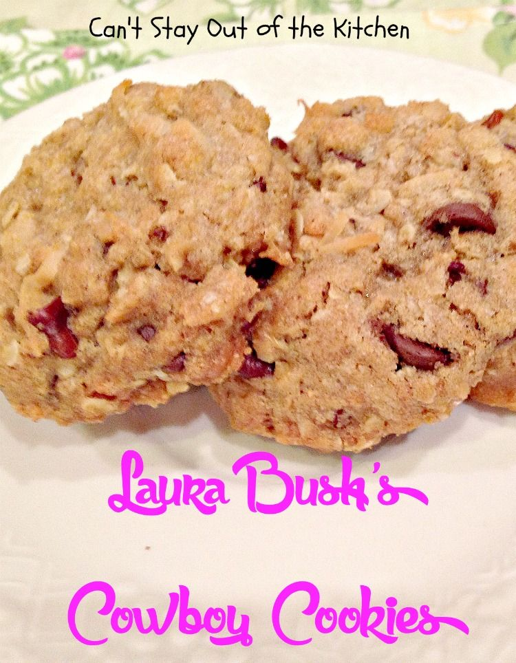 Laura In The Kitchen Chocolate Chunk Cookies