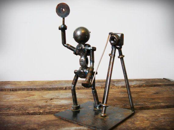 Chain amp bolt giraffe metalworx t scrap metal art metal - Hacienda interiors boulder city nv ...