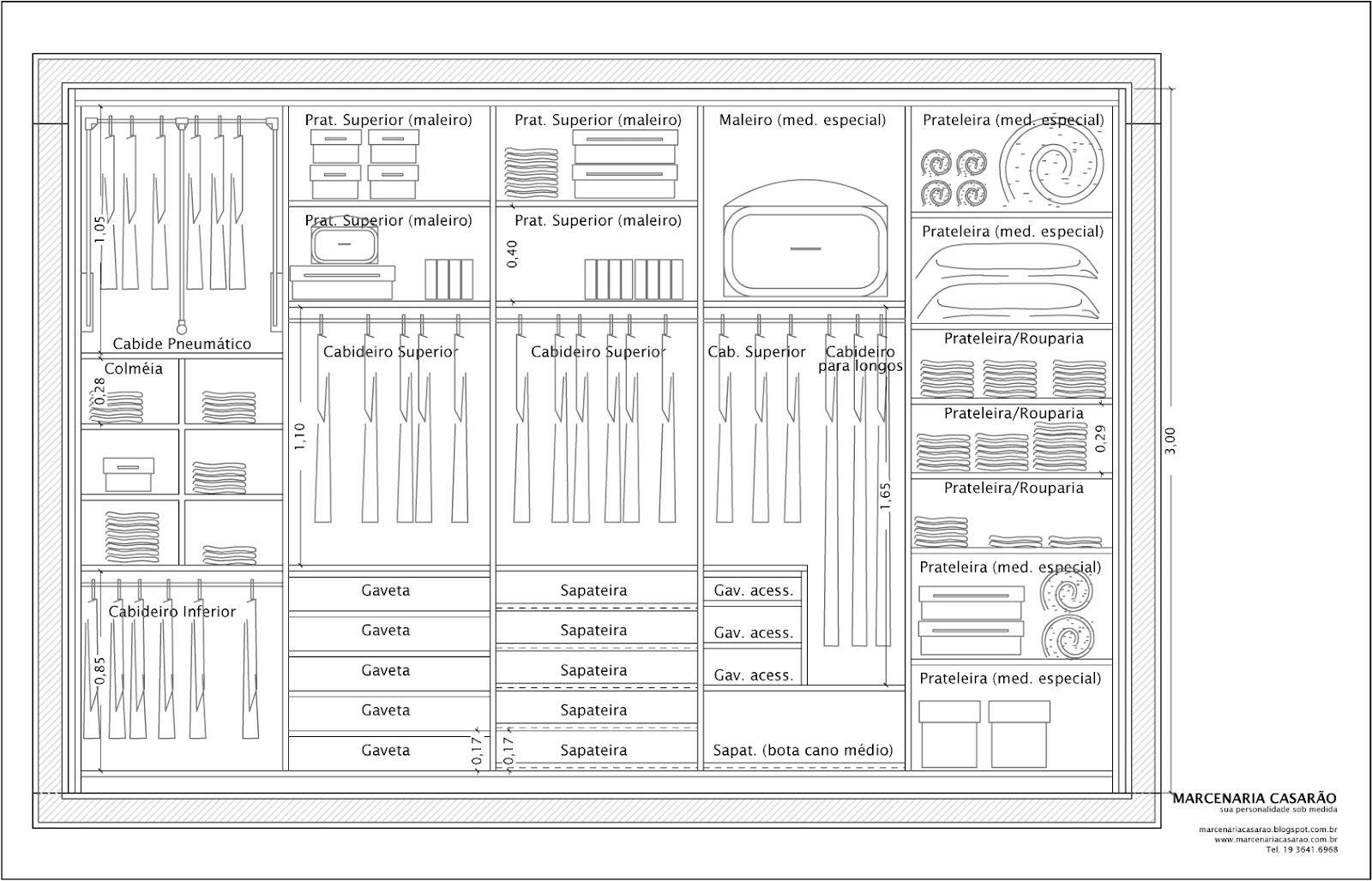 Resultado de imagem para altura de armario de escrit rio for Altura de armario