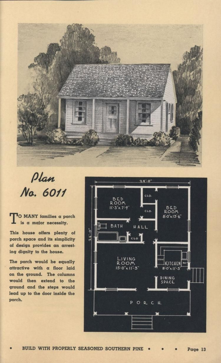 Low Cost Homes And Summer Cottages Southern Pine Assoc Free Download Borrow And Streaming Internet Vintage House Plans How To Plan Small House Design