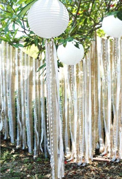 50 Paper Lantern Ideas For Your Wedding Pure White Wedding