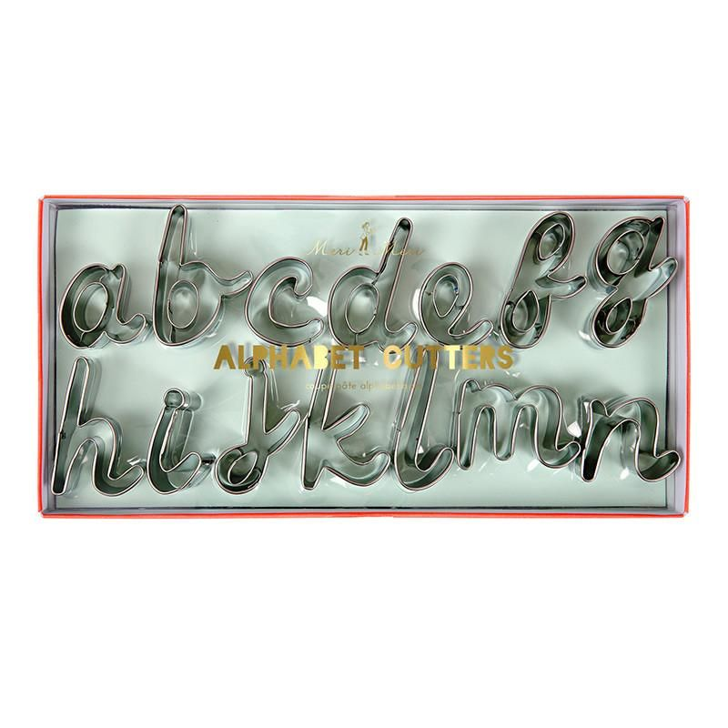 cookie cutters alphabet cookie cutters letter cookie cutters fancy sprinkles sweetapolita