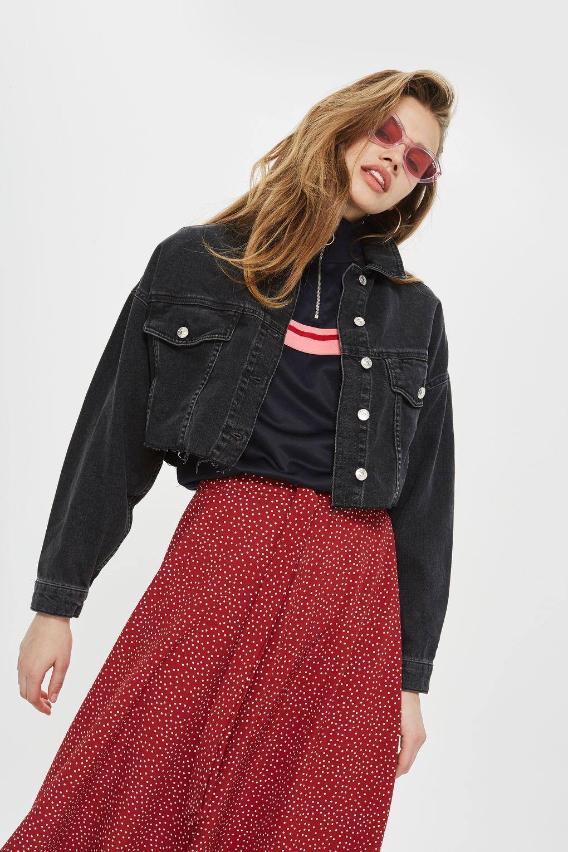 b860f026ffb Hacked Off Cropped Denim Jacket - Jackets   Coats - Clothing