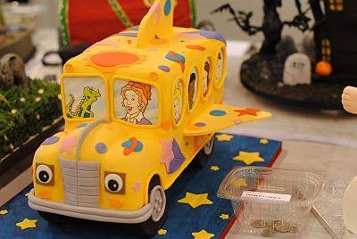Cake Cake Cake School Bus Cake Bus Cake Childrens Birthday