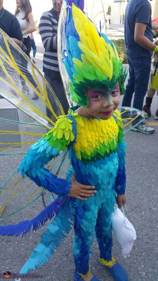 Rise of the Guardians Tooth Fairy Homemade Costume & Rise of the Guardians Tooth Fairy - Halloween Costume Contest at ...