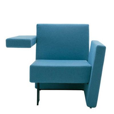 Segis U.S Meet Me Vertical Arm Left and Horizontal Arm Right Arm Chair