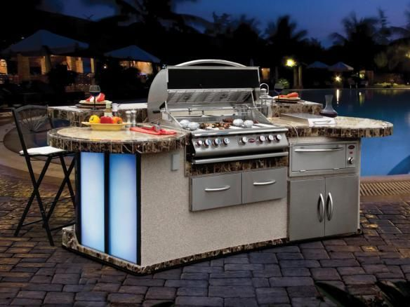 Optimizing An Outdoor Kitchen Layout Hgtv Pertaining To Barbecue Best Outdoor Kitchen Layout Design Ideas