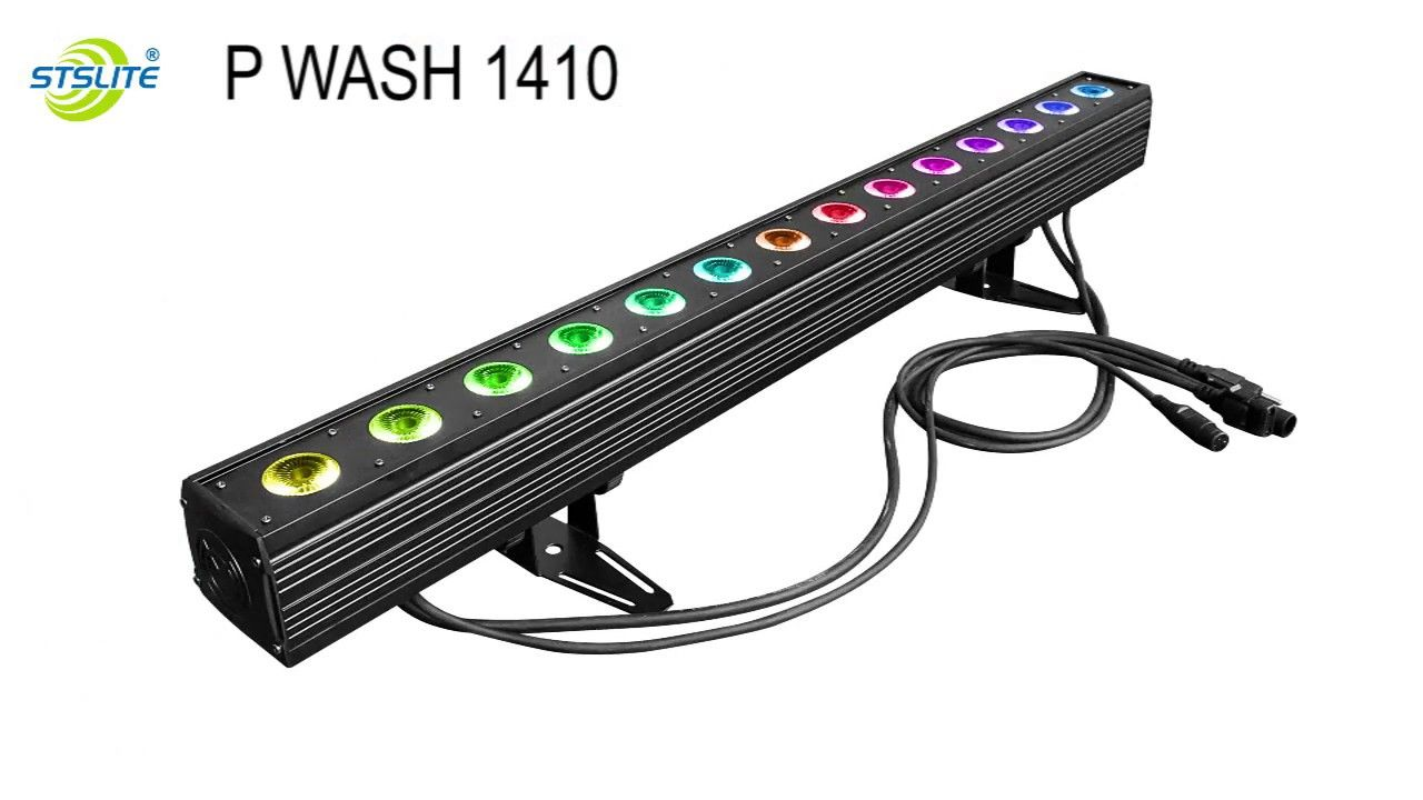 Stslite 14pcs 10w Rgbw 4in1 Pixel Led Bar Wash