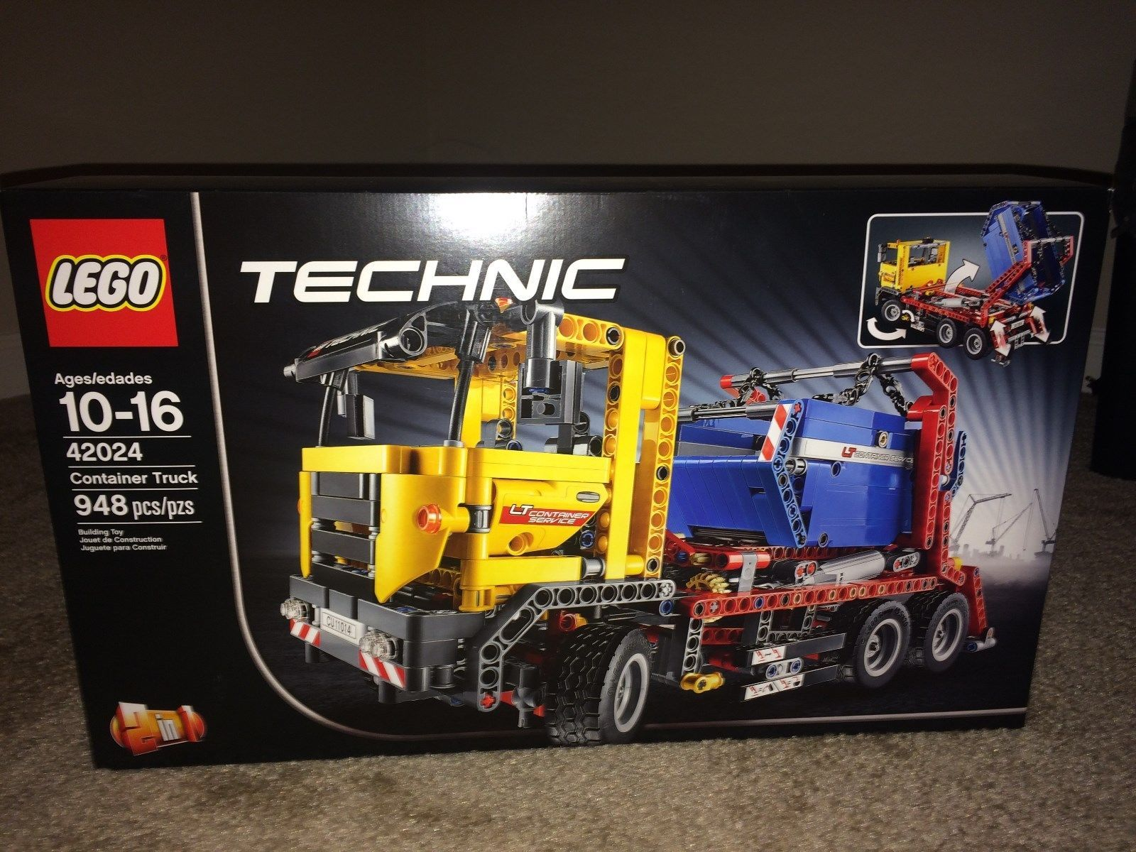 Lego 42024 Container Truck Brand Newsealed Never Opened Rare
