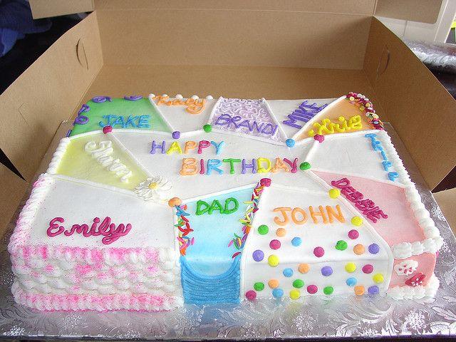 Birthday Cake For Multiple People Birthday Cakes Cake And Birthdays - Cute easy birthday cakes