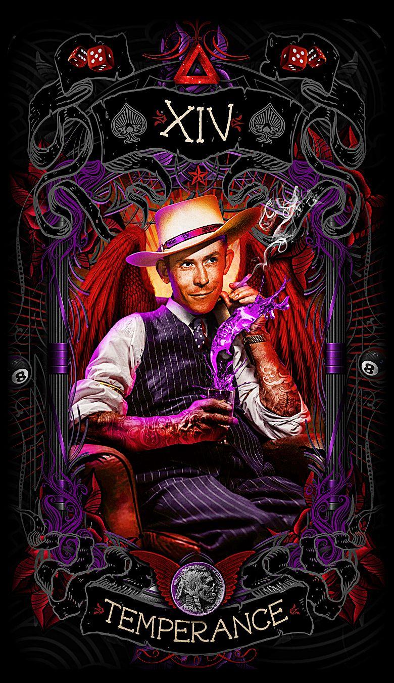 Pin By Psychobilly Tarot On Psychobilly Tarot Card Art