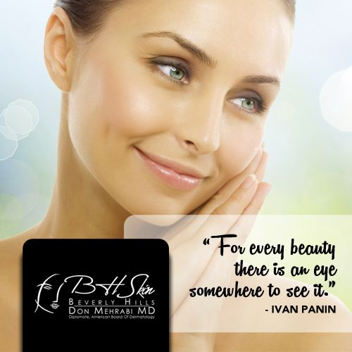 Beauty Is In The Eye Of The Beholder Quote Skin Beauty Bhskin