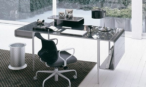 Metal surface desk ucami designer furniture room