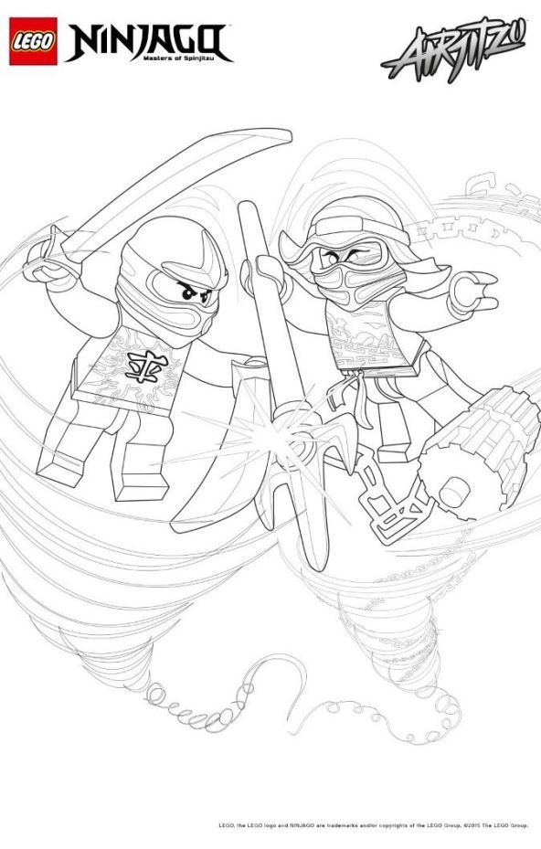 42 Coloring Pages Of Lego Ninjago Ausmalbilder Ninjago