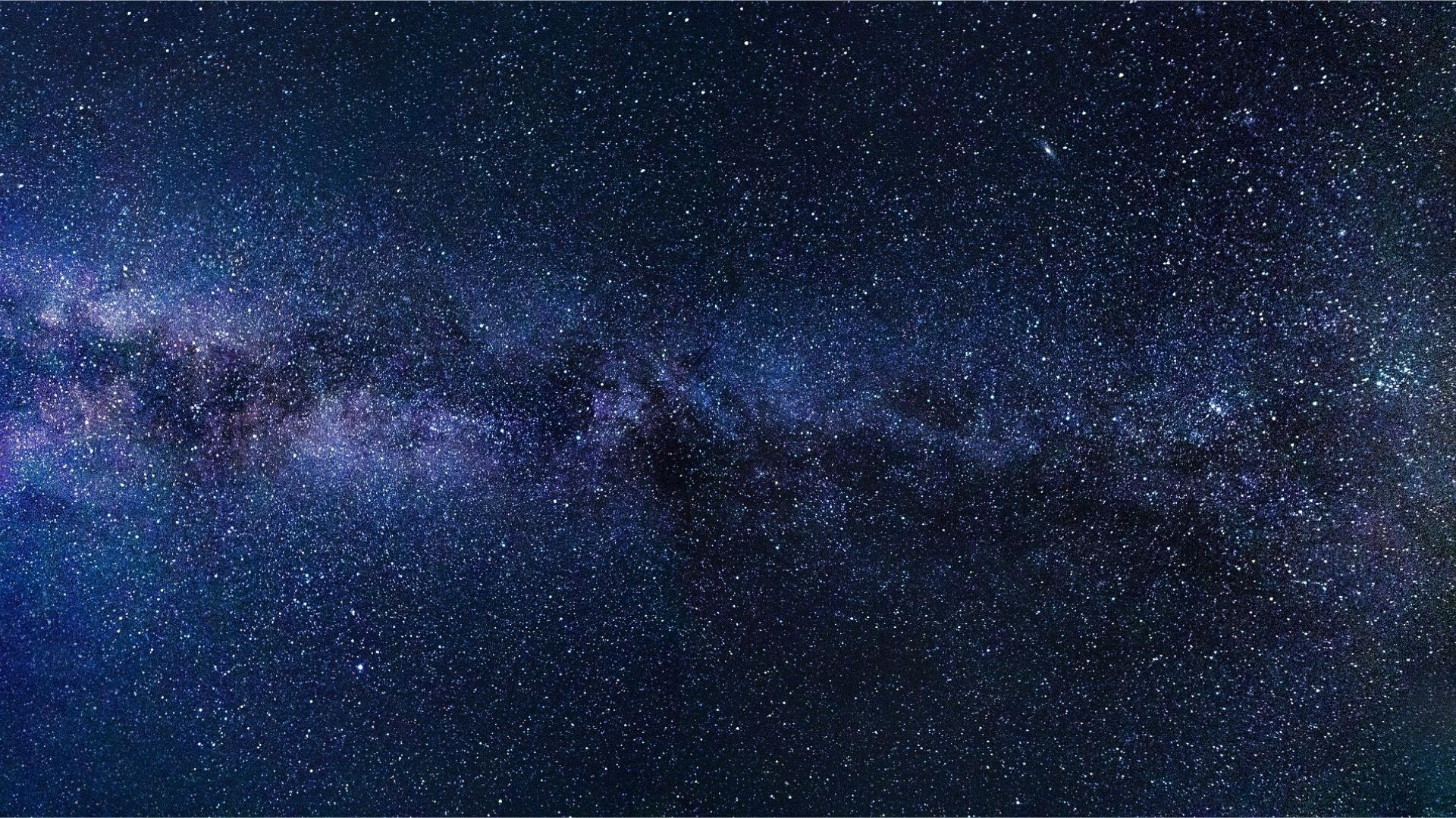 Miki Way Sky 1920 1080 Fotografi Langit Galaksi Bima Sakti Langit Malam