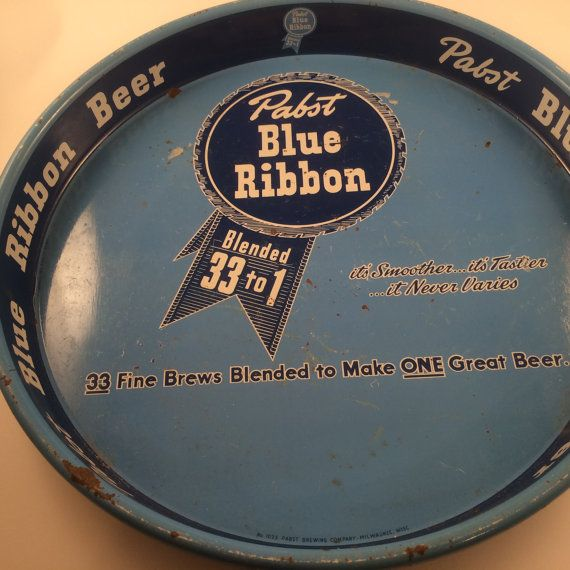 Very Rare  Pabst 33 to 1 Blue Ribbon Beer by PompeyCollectibles