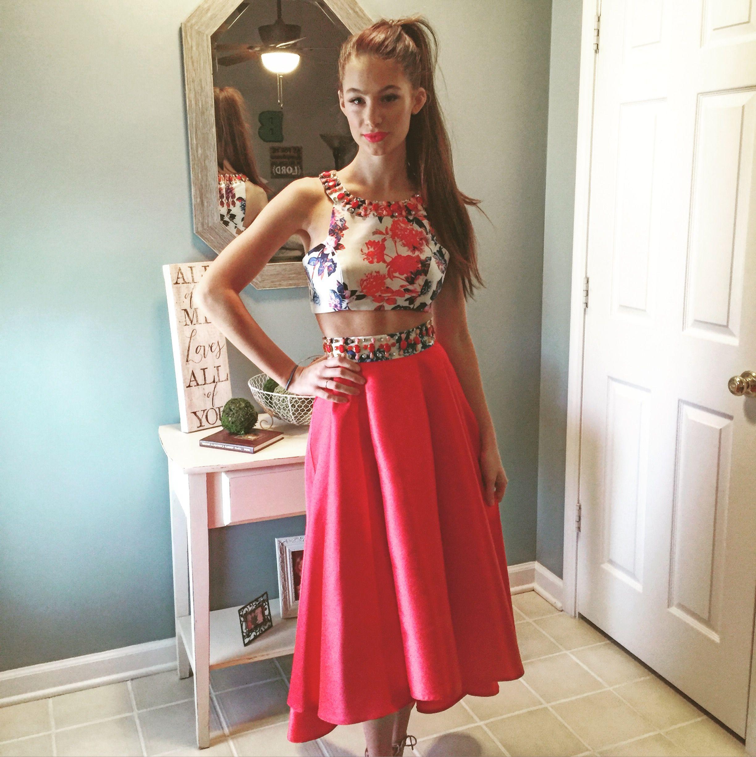 Brooke Barrett chose Mac Duggal for her #Promdress! Get her look ...