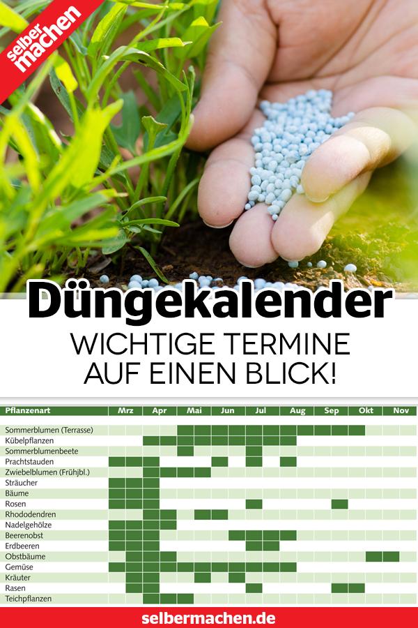 Dungekalender Fur Pflanzen Grosse Ubersicht Pflanzen Indoor Wassergarten Aufbewahrung Garten