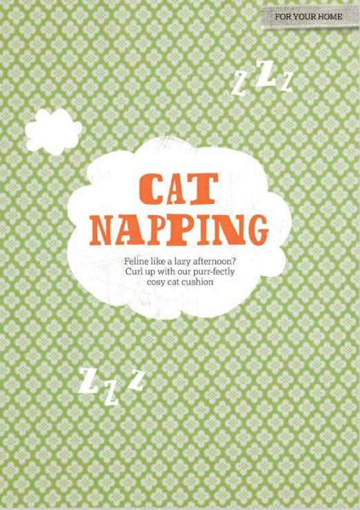 Cross Stitcher 282 - Cat Napping