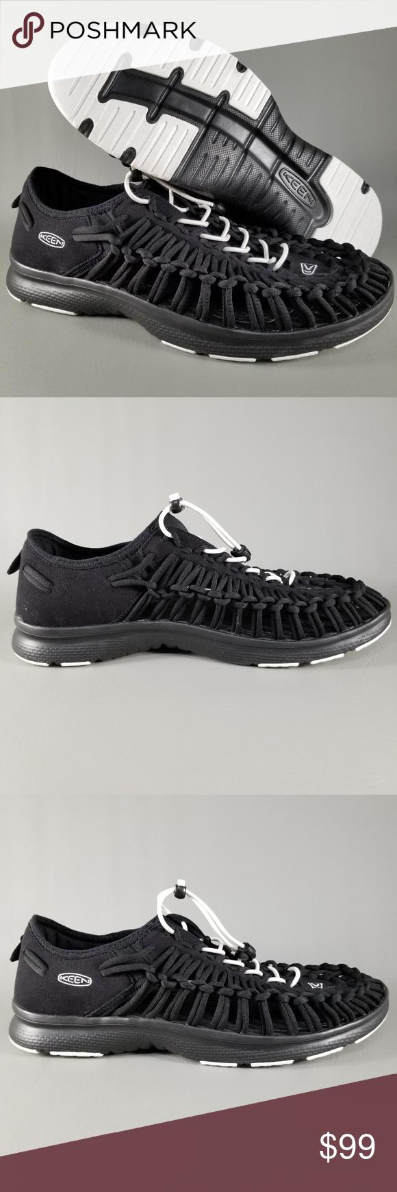 df7745087f2d KEEN Uneek O2 Men s Boat Sandal Loafers 10.5 Black NWT