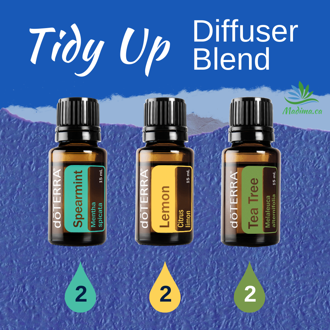 Tidy Up Diffuser Blend in 2020 Diffuser blends, Oil