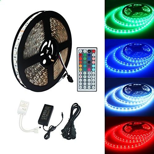 Ecolux 5050 10m 600led smd rgb non waterproof color changing led ecolux 5050 10m 600led smd rgb non waterproof color changing led strips light kit 44 mozeypictures Choice Image