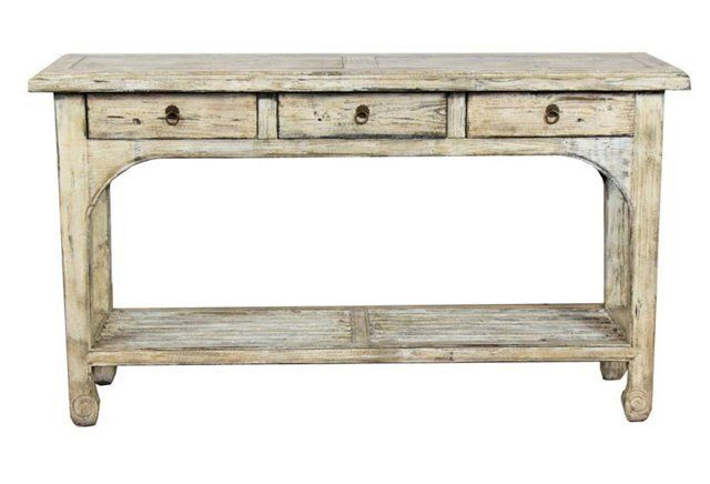 Lina Console Table Console Table Table Cream Console Table