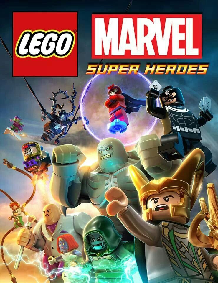 marvel lego wii game