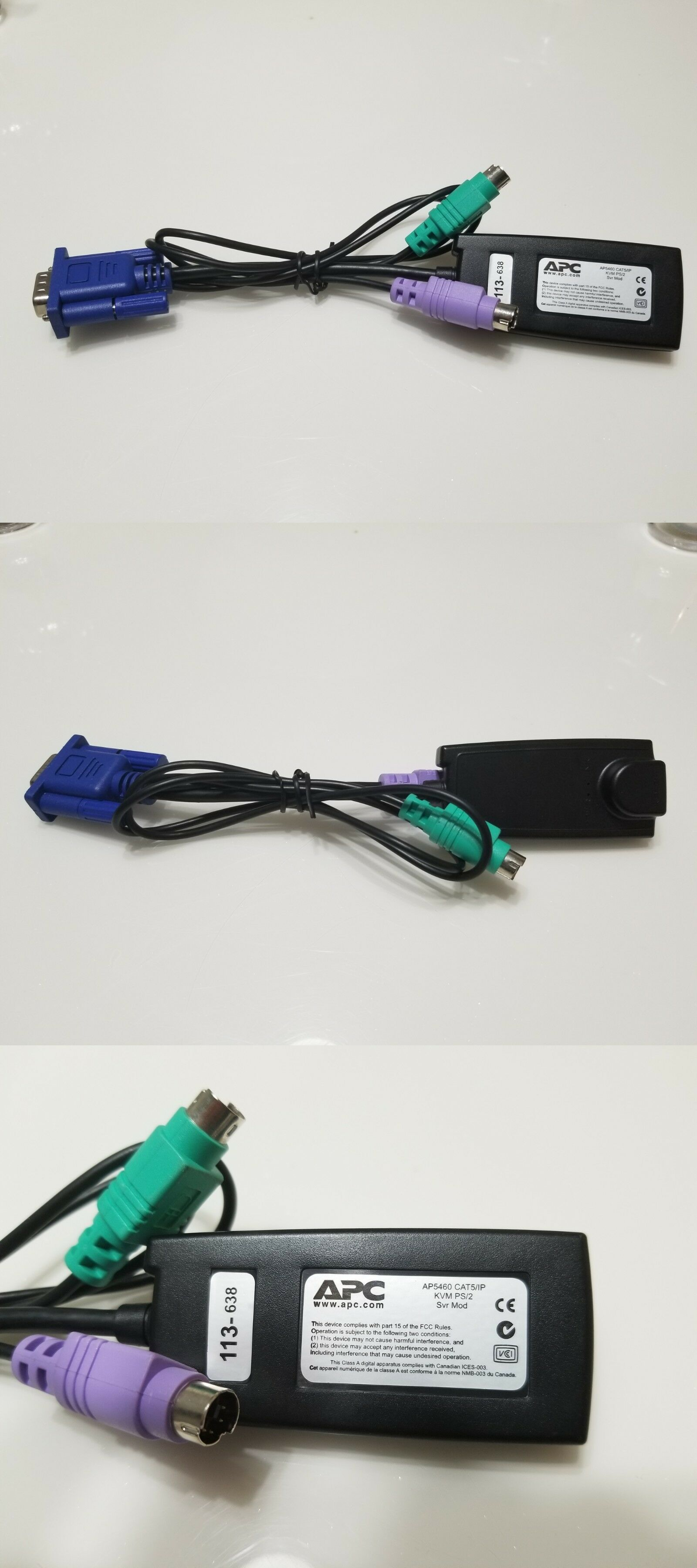 Server Module Cable Ap5460 Cat5 Ip Ebay Kvm Cables Things To Sell Ebay
