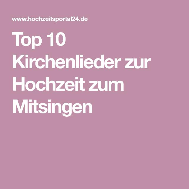 Kirchenlieder Zum Mitsingen