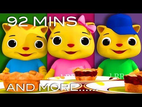 Three Little Kittens Part 2 And More Nursery Rhymes From Littlebabybum Nursery Rhymes Little Babies Little Kittens