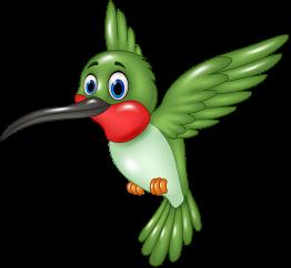 Green Cartoon Bird Caricaturas De Animales Animales Bebes