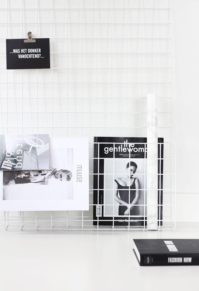 opslagstavle | magasinholder